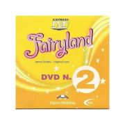 Curs limba engleză Fairyland 2 DVD ( Editura: Express Publishing, Autor: Jenny Dooley, Virginia Evans ISBN 978-1-84679-796-5 )