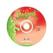 Curs lb. Engleza – Fairyland 4 – Audio CD elev ( Editura: Express Publishing, Autor: Jenny Dooley, Virginia Evans ISBN