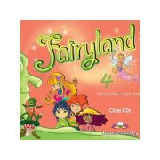 Curs limba engleză Fairyland 4 Audio CD (set 4 CD) ( Editura: Express Publishing, Autor: Jenny Dooley, Virginia Evans ISBN 9781846795107 )