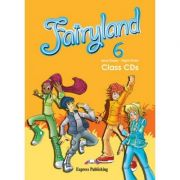 Curs limba engleză Fairyland 6 Audio CD (set 4 CD) ( Editura: Express Publishing, Autor: Jenny Dooley, Virginia Evans ISBN 978-0-85777-469-9 )