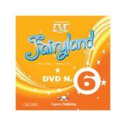 Curs Lb. Engleza Fairyland 6 DVD ( Editura: Express Publishing, Autor: Jenny Dooley, Virginia Evans ISBN 9781780987644 )