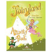 Curs lb. Engleza – Fairyland Starter Caiet de activitati ( Editura: Editura: Express Publishing, Autor: Jenny Dooley, Virginia Evans ISBN 978-1-84679-986-0 )
