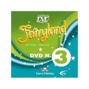Curs limba engleză Fairyland 3 DVD ( Editura: Express Publishing, Autor: Jenny Dooley, Virginia Evans ISBN 978-1-84679-527-5 )