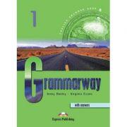Curs de gramatică limba engleză Grammarway 1 cu răspunsuri Manualul elevului ( Editura: Express Publishing, Autor: Jenny Dooley, Virginia Evans ISBN 978-1-84216-365-8 )