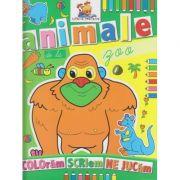 Animale de la Zoo carte de colorat ( Editura: Lizuka Educativ ISBN 9786068714073 )