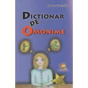 Dictionar de omonime ( Editura: Lizuka Educativ, Autor: Alexandru Emil M. ISBN 978-606-93304-4-9 )