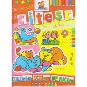 Eu invat sa citesc ABC carte de colorat ( Editura: Lizuka Educational ISBN 978-606-8714-04-2 )