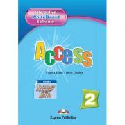 Curs limba engleză Access 2 Soft pentru tabla interactiva ( Editura: Express Publishing, Autor: Virginia Evans, Jenny Dooley ISBN 978-1-84862-247-0 )