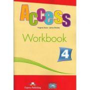 Curs limba engleză Access 4 Caietul elevului ( Editura: Express Publishing, Autor: Virginia Evans, Jenny Dooley ISBN 978-1-84862-032-2 )