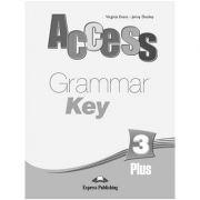 Curs limba engleză Access 3 Cheie la gramatică( editura: Express Publishing, autor: Virginia Evans, Jenny Dooley, ISBN 978-1-84862-197-8 )