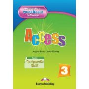 Curs limba engleză Access 3 Soft pentru tabla interactiva ( Editura: Express Publishing, Autor: Virginia Evans ISBN 978-1-84862-248-7 )