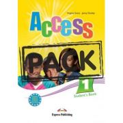 Curs limba engleza Access 1 Pachetul elevului cu ieBook ( Editura: Express Publishing, Autor: Virginia Evans, Jenny Dooley ISBN 978-1-78098-051-5 )