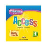 Curs limba engleză Access 1 Soft pentru tabla interactiva ( Editura: Express Publishing, Autor: Virginia Evans, Jenny Dooley ISBN 978-1-84679-705-7 )