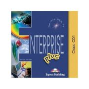 Curs limba engleză Enterprise Plus Audio CD (set 5 CD) ( Editura: Express Publishing, Autor: Virginia Evans, Jenny Dooley ISBN 978-1-84325-823-0 )