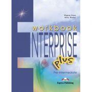 Curs limba engleză Enterprise Plus Caietul elevului ( Editura: Express Publishing, Autor: Virginia Evans, Jenny Dooley ISBN 978-1-84325-814-8 )