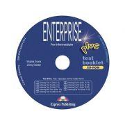 Curs limba engleză Enterprise Plus Tests CD-ROM ( Editura: Express Publishing, Autor: Virginia Evans, Jenny Dooley ISBN 9781849740784 )