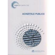 Achizitiile publice ( Editura: Monitorul Oficial ISBN 978-973-567-936-1 )