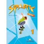Curs lb. engleza SPARK 1 Monstertrackers – Caietul elevului ( Editura: Express Publishing, Autor: Virginia Evans, Jenny Dooley ISBN 978-1-4715-6581-6)