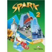 Curs lb. engleza SPARK 2 Monstertrackers – AUDIO CD la manual ( Editura: Express Publishing, Autor: Virginia Evans, Jenny Dooley ISBN 9781849746892 )