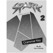 Curs lb. engleza SPARK 2 Monstertrackers – Cheie la gramatica ( Editura: Express Publishing, Autor: Virginia Evans, Jenny Dooley ISBN 978-1-84974-686-1 )