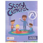Story Central 4 Activity Book ( Editura: Macmillan, Autor: Sue Clarke, Anita Heald ISBN 978-0-230-45225-1 )