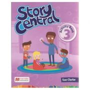 Story Central 3 Activity Book ( Editura: Macmillan, Autor: Sue Clarke ISBN 978-0-230-45216-9 )