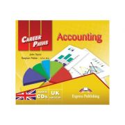 Curs limba engleză Career Paths Accounting Audio CD ( Editura: Express Publishing, Autor: John Taylor, Stephen Peltier ISBN 978-0-85777-829-1 )