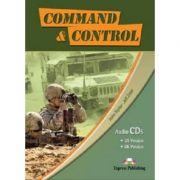 Curs limba engleză Career Paths Command and Control Audio-CD la manual (set de 4 CD-URI ) ( Editura: Express Publishing, Autor: John Taylor; Jeff Zeter ISBN 978-0-85777-507-8 )