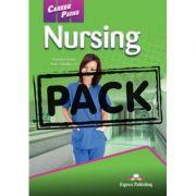 Curs limba engleză Career Paths Nursing pachetul elevului ( Editura: Express Publishing, Autor: Virginia Evans, Kori Salcido – R. N. ISBN 978-0-85777-846-8 )