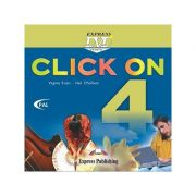 Curs limba engleză Click on 4 DVD ( Editura: Express Publishing, Autor: Virginia Evans, Neil O Sullivan ISBN 978-1-84466-744-4 )