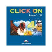 Curs lb. Engleza – Click On 4 – Audio CD elev 9 Editura: Express Publishing, Autor: Virginia Evans, Neil O Sullivan ISBN 9781843257875 )