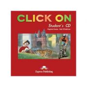 Curs lb. Engleza – Click On 1 – Audio CD elev ( Editura: Express Publishing, Autor: Virginia Evans, Neil O Sullivan ISBN 978-1-84216-696-3 )