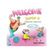 Curs lb. Engleza – Welcome Starter a – Audio CD elev ( Editura: Express Publishing, Autor: Elizabeth Gray, Virginia Evans ISBN 9781845583682 )