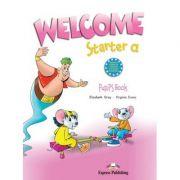 Curs limba engleză Welcome Starter A Manualul elevului ( Editura: Express Publishing, Autor: Elizabeth Gray, Virginia Evans ISBN 978-1-84558-253-1 )