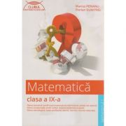 Matematica clasa a IX-a Semestrul I ( Editura: Art Grup Editorial, Autor: Marius Perianu, Florian Dumitrel ISBN isbn 978-606-710-289-5 )