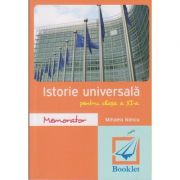 Istorie universala pentru clasa a XI-a ( Editura: Booklet, Autor: Mihaela Nancu ISBN 978-606-590-334-0 )