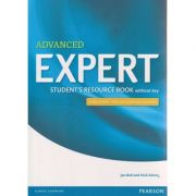 Advanced Expert Student s Resource Book whithout key Third Edition with 2015 exam specifications ( Editura: Longman, Autor: Jan Bell, Nick Kenny ISBN 9781447980612 )
