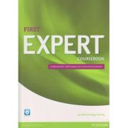 First Expert Coursebook Third Edition - with March 2015 exam specifications and Audio CD( Editura: Longman, Autor: Jan Bell, Roger Gower ISBN 978-1-4479-6200-7 )