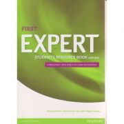 First expert student s Resource Book with key Third Edition - with March 2015 exam specifications ( Editura: Longman, Autor: Richard Mann, Nick Kenny, Jan Bell, Roger Gower ISBN 978-1-4479-8062-9 )