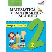 Matematica si explorea mediului - culegere clasa a II-a ( editura: Joy, autor: Valentina Stefan-Caradeanu, Florentina Hahaianu, Elena Apopei, Florentina Duta, ISBN 978-606-8593-43-2 )