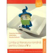 Lima si literatura romana pentru clasa a V-a, metoda stiu-descopar-aplic - semestrul II ( editura: Art, autor: Florentina Samihaian, Florin Ionita, etc, ISBN 978-606-710-255-0 )