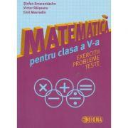 Matematica pentru clasa a V-a ( Smarandache ) ( Editura: Sigma, Autor: Stefan Smarandache, Victor Balseanu, Emil Mavrodin ISBN 978-606-727-131-7 )