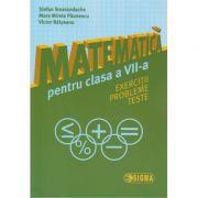 Matematica pentru clasa a VII a ( Smarandache ) ( Editura: Sigma, Autor: Stefan Smarandache, Mara Mirela Paunescu, Victor Balseanu ISBN 978-606-727-154-6 )