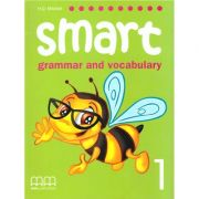 Smart 1 - grammar and vocabulary student's book ( editura: MM Publications, autor: H. Q. Mitchell, Marileni Malkogianni, ISBN 978-960-443-244-8 )