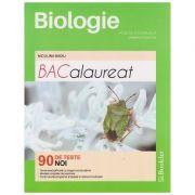 Biologie vegetala si animala clasele IX-X Bacalaurea 90 de teste noi ( Editura: Booklet, Autor: Niculina Badiu isbn 978-606-590-395-1 )