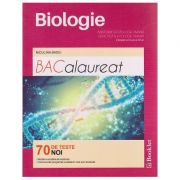 Biologie Anatomie si fiziologie umana / Genetica si ecologie umana clasele a XI-a si a XII -a Bacalaureat 70 de teste noi ( Editura: Booklet, Autor: Niculina Badiu ISBN 978-606-590-396-8 )