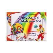 Arte vizuale si abilitati practice caietul elevului pentru clasa IV-a ( Editura: Aramis, Autor: Silvia Mirsan, Dan-Paul Marsanu ISBN 978-606-706-357-8 )