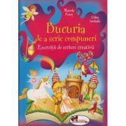 Bucuria de a scrie compuneri Exercitii de scriere creativa ( Editura: Aramis, Autor: Marcela Penes, Celina Iordache ISBN 978-606-706-239-7 )