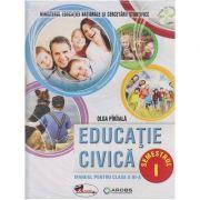 Educatie civica manual pentru clasa a III -a Semestrul I + Semestrul II ( Paraiala) + CD MULTIMEDIA( Editura: Aramis, Autor: Olga Paraiala ISBN 978-606-706-222-9 )