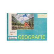 Geografie caiet de lucru pentru clasa a V-a ( Editura: Booklet, Autor: Adriana Barbulescu ISBN 978-606-590-446-0 )